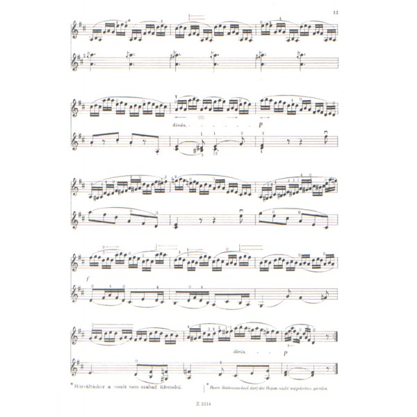 Dont, Jakob - Gradus Ad Parnassum - 30 intermediate exercises for violin with accompaniment of a second violin