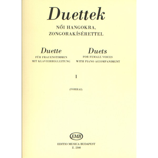 Duets For Female Voices