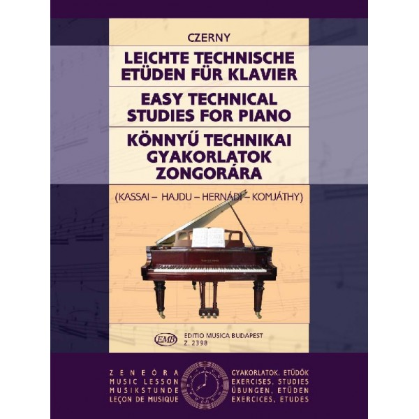 Czerny, Carl - Easy Technical Studies
