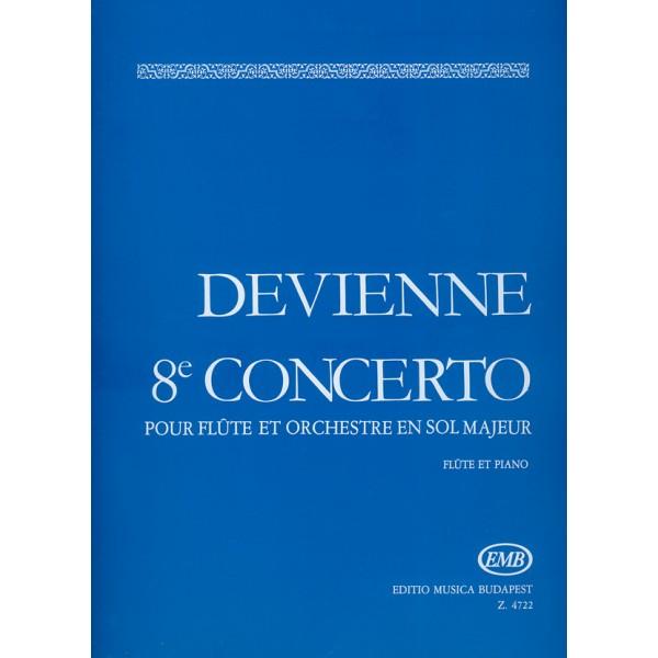 Devienne, Francois - Flute Concerto No. 8 In G Major