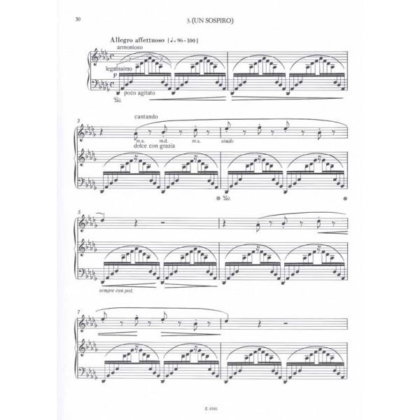 Liszt Ferenc - Trois Études De Concert