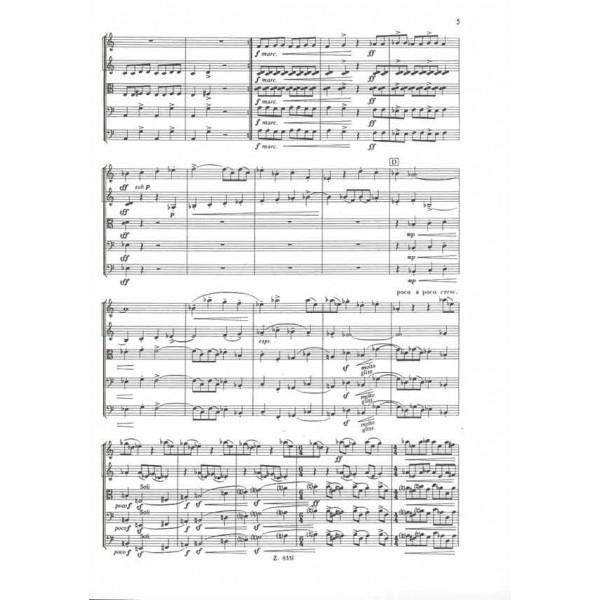 Szervánszky Endre - Divertimento No. 1 - for string orchestra
