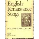 English Renaissance Songs - for voice and guitar