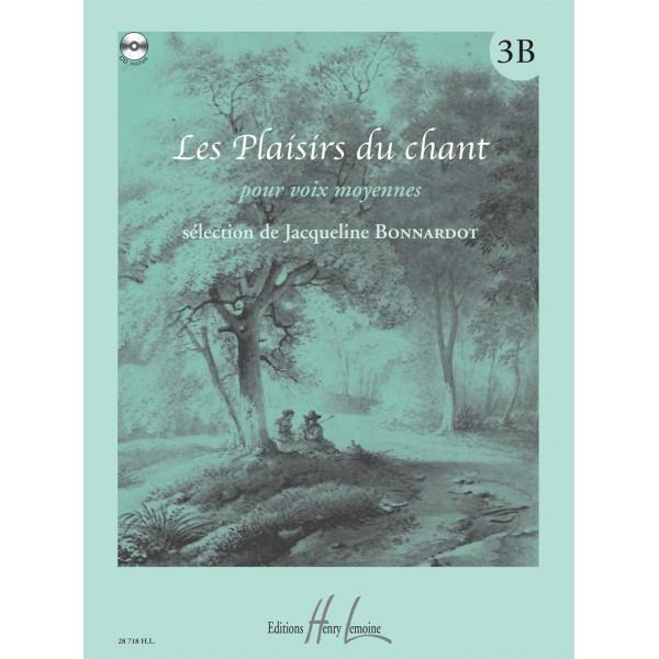 Bonnardot, Jacqueline - Les Plaisirs Du Chant Vol.3b