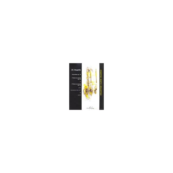 Singelee, Jean-Baptiste - 3 Et 5ème Solos De Concert / Concertino Op.78