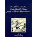 BACH - Pièces Faciles De La Famille Bach (10)