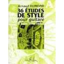 Dumond, Arnaud - Etudes De Styles (36) Vol.a