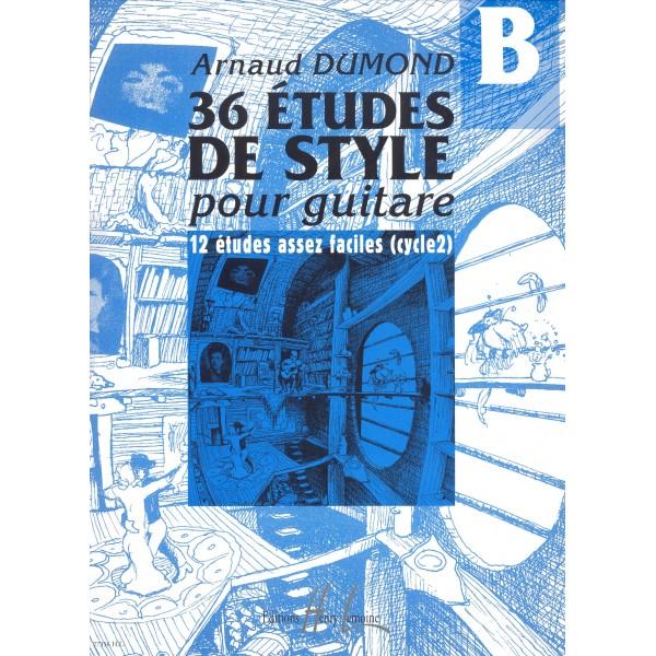 Dumond, Arnaud - Etudes De Styles (36) Vol.b