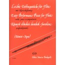 Easy Performance Pieces - for flute with piano accompaniment