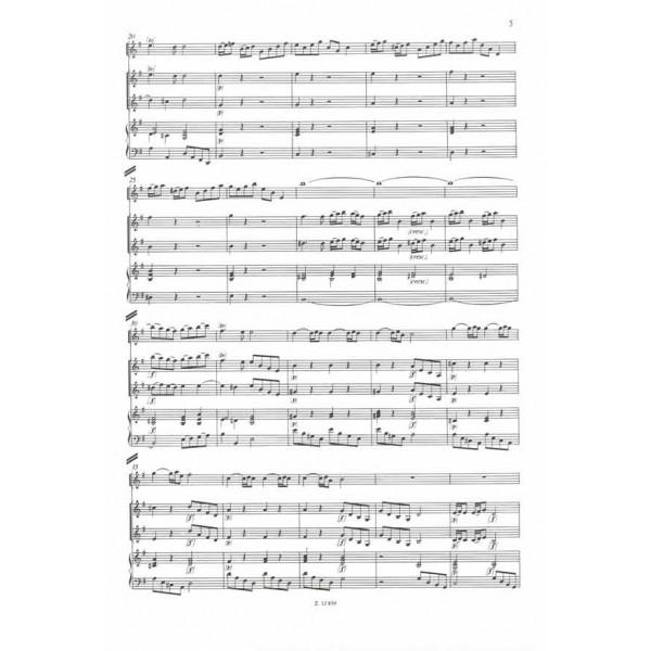 Telemann, Georg Philipp - Concerto In Sol Maggiore - per flauto con 2 violini e basso continuo