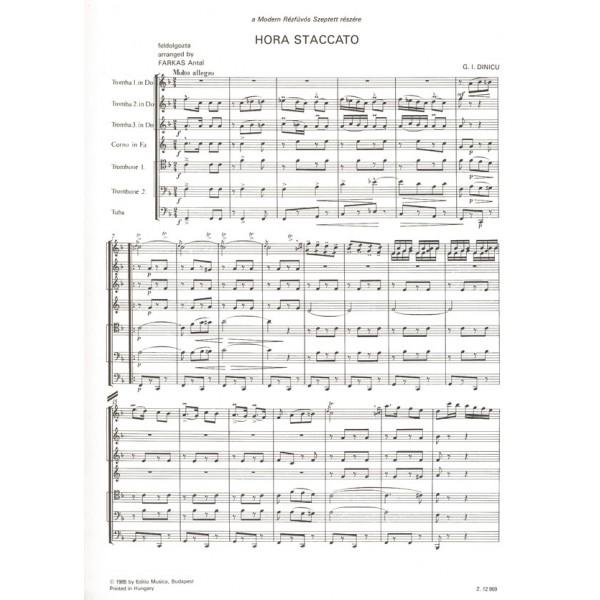 Dinicu, Grigoras - Hora Staccato - for brass septet
