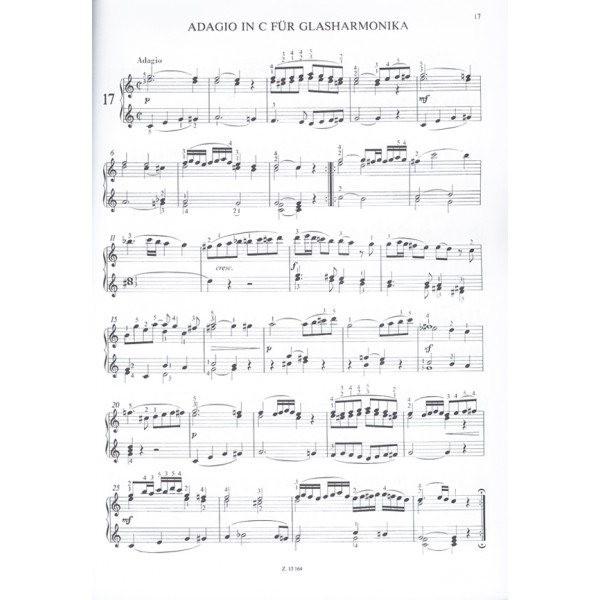 Mozart, Wolfgang Amadeus - Easy Masterpieces For Piano - Mozart