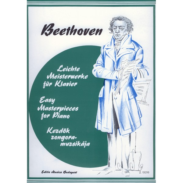 Beethoven, Ludwig van - Easy Masterpieces For Piano - Beethoven
