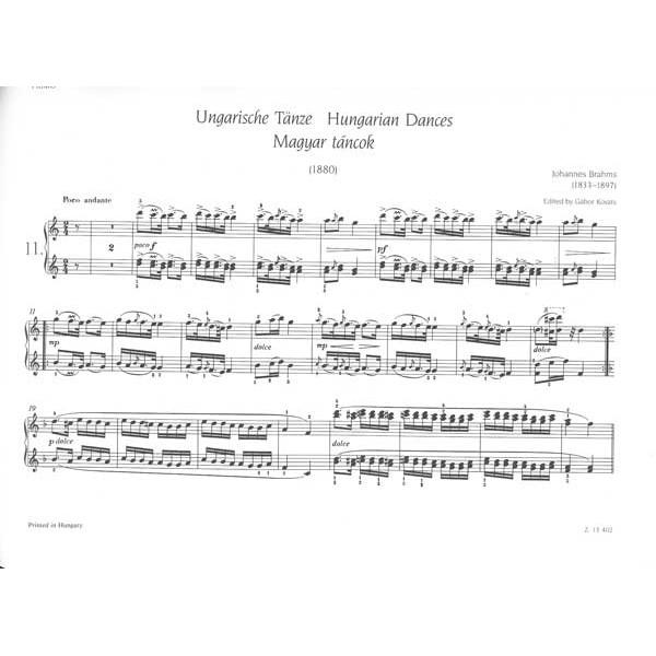 Brahms, Johannes - Hungarian Dances