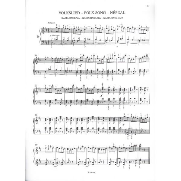 Tchaikovsky, P. I. - Easy Masterpieces For Piano - Tchaikovsky