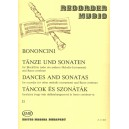 Bononcini, Giovanni Maria - Dances And Sonatas - for recorder (or other melody instrument) and Basso continuo