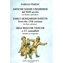 Farkas Ferenc - Early Hungarian Dances From The 17th Century - for flute and piano