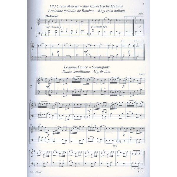 Wedding Songs Duets: Free Sheet Music Clarinet Bassoon Duets