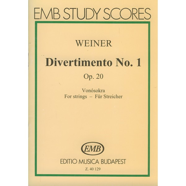 Weiner Leó - Divertimento No.1 - Adapted from old Hungarian dances