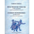 Farkas Ferenc - Early Hungarian Dances From The 17. Century - for violin (or violoncello) and piano