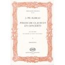 Rameau, Jean-Philippe - Pieces De Clavecin En Concerts - pour violon (flute), viole (violoncelle ou 2. violon) et clavecin, Conc