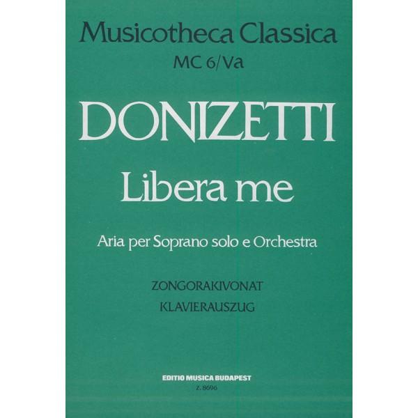 Donizetti, Gaetano - Libera Me - Aria per Soprano solo e Orchestra (con violino obbligato)