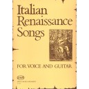 Italian Renessaince Songs - for voice and guitar