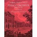 W.A. Mozart: Piano Concertos Nos.17-22 (Full Score) - Mozart, Wolfgang Amadeus (Artist)