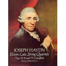 F.J. Haydn: Eleven Late String Quartets - Haydn, Franz Joseph (Artist)