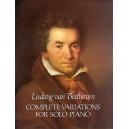 Beethoven: Complete Variations For Solo Piano - Beethoven, Ludwig Van (Composer)