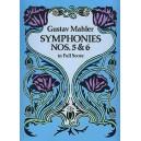 Gustav Mahler: Symphonies Nos. 5 And 6 (Full Score) - Mahler, Gustav (Composer)