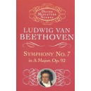Beethoven: Symphony No.7 In A, Op.92 (Miniature Score) - Beethoven, Ludwig Van (Composer)