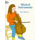Musical Instruments Colouring Book - McHenry, Ellen J. (Author)