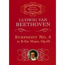 Beethoven: Symphony No.4 In B-Flat Major Op.60 Miniature Score - Beethoven, Ludwig Van (Artist)