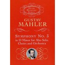 Gustav Mahler: Symphony No.3 In D Minor (Miniature Score) - Mahler, Gustav (Composer)