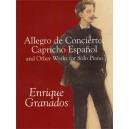 Granados, Enrique - Allegro De Concierto, Capricho Espanol & Other Works