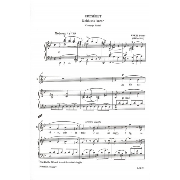 Opera Choruses - for mixed voices with piano accompaniment