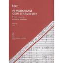 Sáry László - In Memoriam Igor Stravinsky - for 24 wind instruments