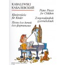 Kabalevszkij, Dmitrij - Piano Pieces For Children