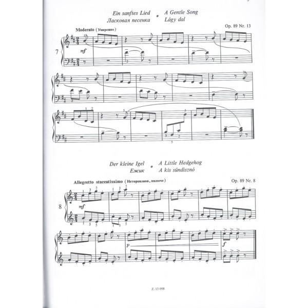 Kabalevszkij, Dmitrij - Piano Pieces For Children