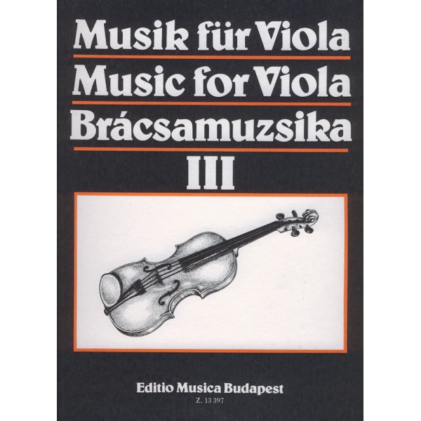 Music For Viola