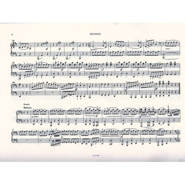 Beethoven, Ludwig van - Pieces For Piano Duet