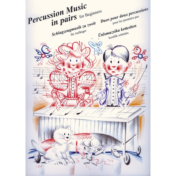 Percussion Music In Pairs For Beginners (for Vibraphone, Marimba)