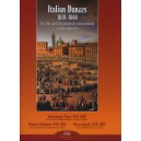 Italian Dances 1610-1660 - for one and two melody instruments and continuo