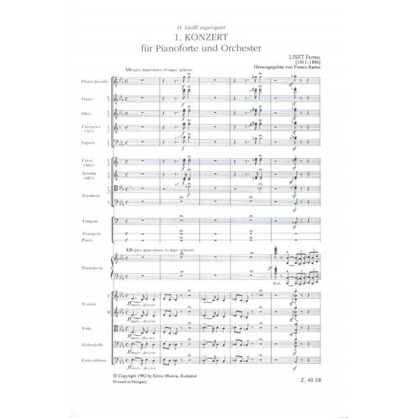 Liszt Ferenc - Piano Concerto No. 1 In E-flat Major