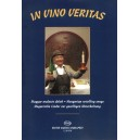 In Vino Veritas - Hungarian revelling songs voice and violin part with piano accompaniment and indication of harmony