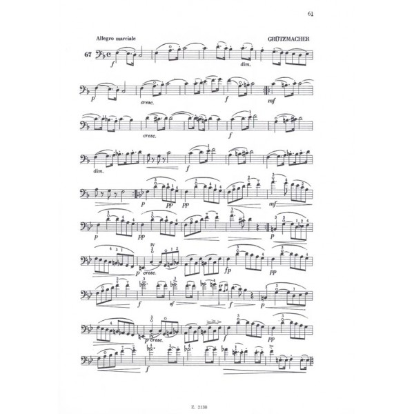 Somló Klára - Studies For Violoncello