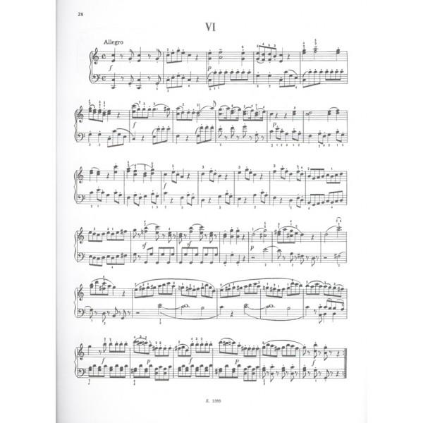 Mozart, Wolfgang Amadeus - Six Viennese Sonatinas