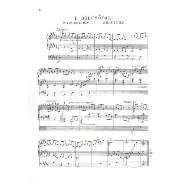 Sz_nyi Erzsébet - Six Pieces For Organ