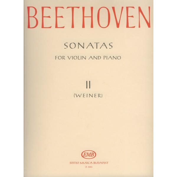 Beethoven, Ludwig van - Sonatas - for violin and piano